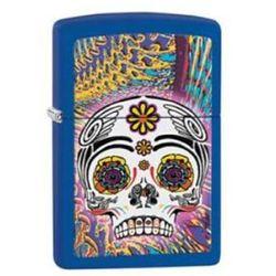 Zapalniczka Zippo Skull Royal Blue Matte 28470