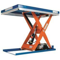 Kompaktowy stół podnośny, stacjonarny, udźwig 500 kg, dł. x szer. platformy 900x