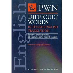 Difficult words in Polish-english translation (Christian Douglas Kozłowska)
