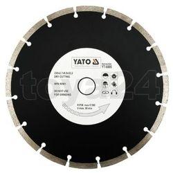 Yato Tarcza diamentowa, segmentowa 230 mm / yt-6005 /  - zyskaj rabat 30 zł (5906083960055)