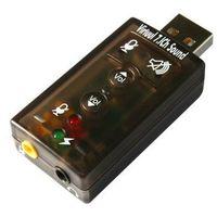 SUPER KARTA DŹWIĘKOWA USB 7.1 3D SURROUND