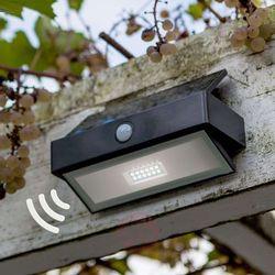 Eco-light Arrow – solarna lampa ścienna led z czujnikiem
