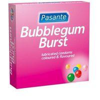Pasante Bubble Gum - prezerwatywy o smaku gumy balonowej