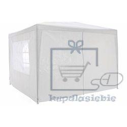 Namiot ogrodowy, party, klasyczny 3x3m + ściany - biały marki Garthen