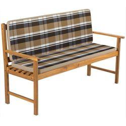 Poduszka ogrodowa na ławkę  fdzn 9121 kremowy marki Fieldmann