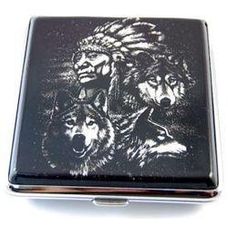 Papierośnica Indianie 6-0010 z kategorii Papierośnice i pudełka na cygara