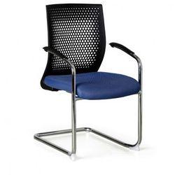 Krzesło konferencyjne amenities, niebieskie marki B2b partner