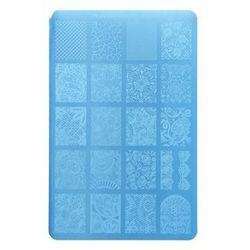 Moyra Nail Art Lacelove płytka z wzorkami do stempelka do paznokci (Plate 15) ()