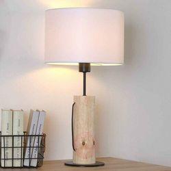 Pino Nocna Spot-Light 77626904 Drewno/Metal/Tkanina
