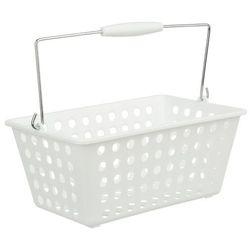 Instant d'o Organizer, kosz na kosmetyki, pojemnik łazienkowy - kolor biały, 30 x 22 x 15 cm (3560238569207)