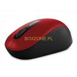 Microsoft  mysz bluetooth mobile mouse 3600, 1 szt aa, 2.4 [ghz], optyczna, 3kl., 1 scroll, bezprzewodowa, czerwona, 1000dpi, klasy