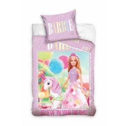 Pościel Barbie 160x200+70x80cm 3Y38JA
