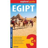 Egipt 3w1 Przewodnik + Atlas + Mapa Laminowana, praca zbiorowa