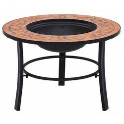 Elior Okrągłe dekoracyjne palenisko ogrodowe terakota - nodis