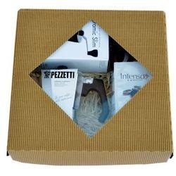 Pezzetti Kawiarka LuxExpress + młynek Hario + Intenso Classico 500g - produkt z kategorii- Zaparzacze i kawiarki