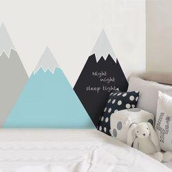 Naklejka ścienna  załóżkownik kredowy - góry pastelowe (180x107) marki Dekornik