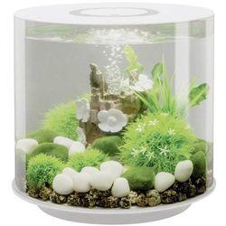 Akwarium akrylowe Oase biOrb TUBE 15 LED weiß 45930, z Podświetleniem LED, 15 l, (ØxW) 328 mmx315 mm, biOrb TUBE 15 LED weiß