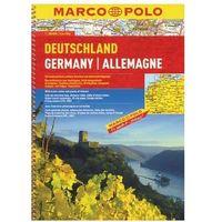 Niemcy. Atlas drogowy 1:300 000, Marco Polo