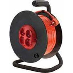 Przedłużacz na bębnie 40m 3x1,5mm z wyłącznikiem termicznym pzb-40-40y marki Elgotech