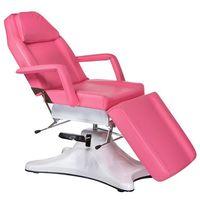 Beauty system Fotel kosmetyczny hydrauliczny bd-8222 różowy