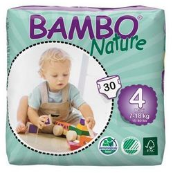 Bambo Nature Maxi 7-18kg, 30szt. - produkt z kategorii- Pieluchy jednorazowe