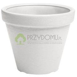 Doniczka donica ogrodowa Classic DBC30 biała - produkt z kategorii- Doniczki i podstawki