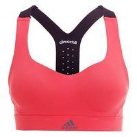 adidas Performance Biustonosz sportowy coral pink