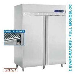 Szafa chłodnicza z wentylacją - 2 drzwiowa GN 2/1 - 1400 l, kup u jednego z partnerów