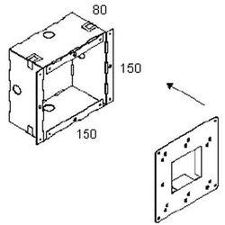 Delta Light Concrete Box 115 (obudowa wpuszczana) - produkt z kategorii- lampy ogrodowe