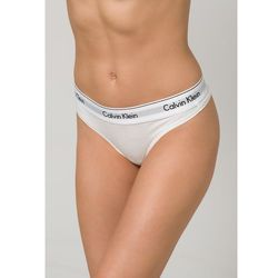 Calvin Klein Underwear MODERN COTTON Stringi white, materiał bawełna  modal  elastan, biały