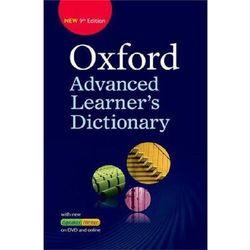 Oxford Advanced Learner's Dictionary 9E + DVD-ROM + Online Access Code, książka w oprawie twardej