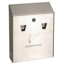 Eco-market.plmew-p Kosz na śmieci-papierośnik na ścianę, kategoria: popielniczki