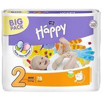 Pieluszki bella baby happy mini (2) 3-6kg - 78 szt. big pack marki Tzmo s.a.