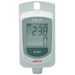 Rejestrator temperatury ebro EBI 25-T 1340-6200 Kalibracja Fabryczna