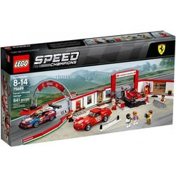 75889 REWELACYJNY WARSZTAT FERRARI (Ferrari Ultimate Garage) - KLOCKI LEGO SPEED CHAMPIONS
