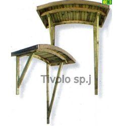 Drewniane zadaszenie