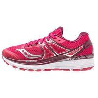 Saucony TRIUMPH ISO 3 Obuwie do biegania treningowe pink/berry/silver (0720026732883)