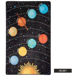 SELSEY Dywan do pokoju dziecięcego Dinkley Galaxy 100x160 cm