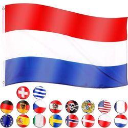 FLAGA HOLANDII HOLENDERSKA 120x80 CM NA MASZT HOLANDIA - Holandii (4048821749216)