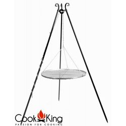 Grill ogrodowy stal nierdzewna 50 cm, CookKing