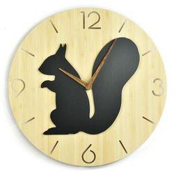 Zegar ścienny - Wild I - Squirrel, Clock-0001
