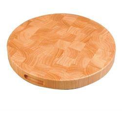 Okrągła drewniana deska do krojenia | śr.400x(h)45mm marki Olympia