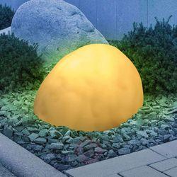 Lampa solarna LED 33775, Kamień, satynowany (9007371365753)