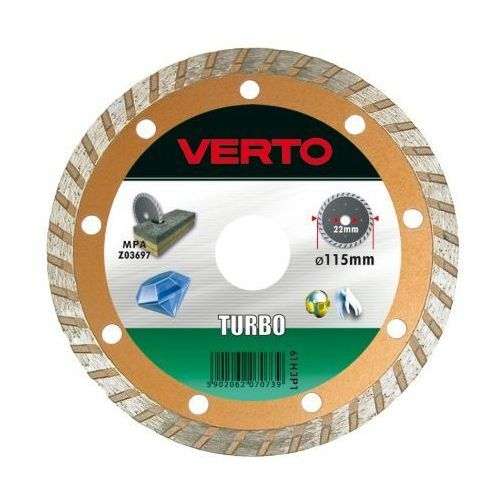 Tarcza do cięcia VERTO 61H3P8 180 x 22.2 mm diamentowa turbo