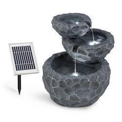 murach fontanna kaskadowa akumulator 2 kwpanel słoneczny 3 diody led marki Blumfeldt