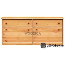 Woodica Szafka na buty i + szuflada podwójna (wąska/szeroka) 110x62x29