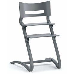 Wysokie krzesło dziecięce leander classic, szary marki Aj produkty