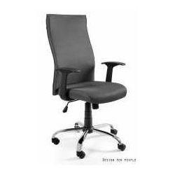 Unique meble Fotel black on black szary - zadzwoń i złap rabat do -10%! telefon: 601-892-200