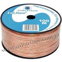 Przewód głośnikowy kabel CCA 2x2,5 mm 100m, kup u jednego z partnerów