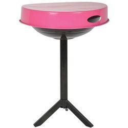 Esschert design stół do grilla, stal węglowa, różowy, ff250
